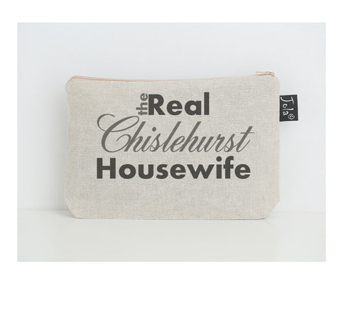 Personalised Real Housewife small make up bag