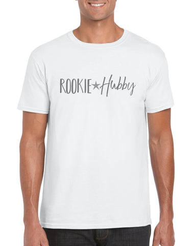 Cotton T Shirt Rookie Hubby