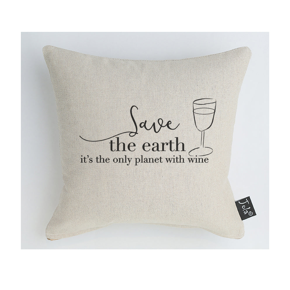 Save the Earth cushion