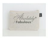 Absolutely Fabulous small make up bag