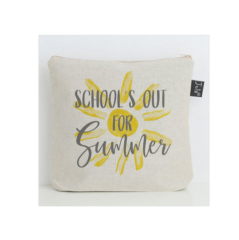 Schools out for summer washbag