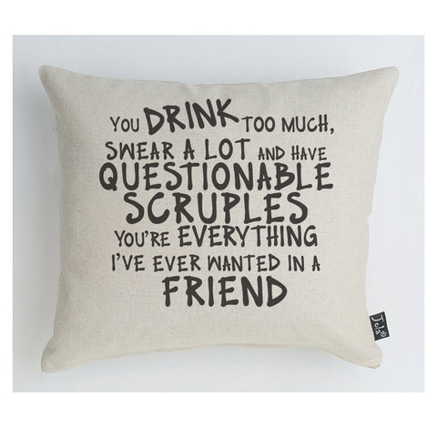 New Scruples cushion
