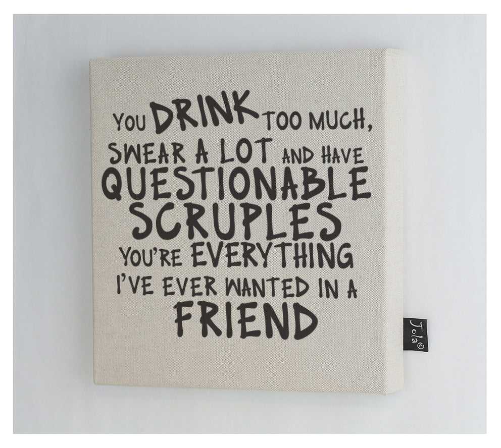 New Scruples Canvas Frame