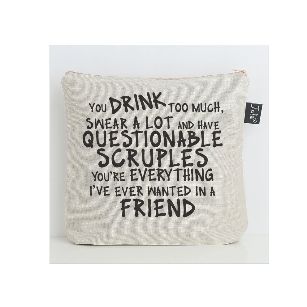 New Scruples washbag