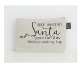 Secret Santa Fabulous small make up bag