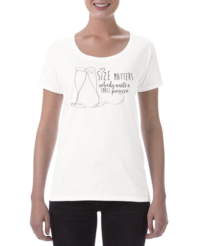 Size Matters Cotton T Shirt