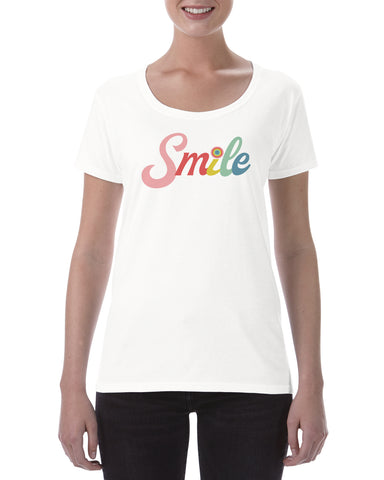 Smile cotton t shirt