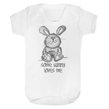 Cute Some bunny loves me Baby Vest