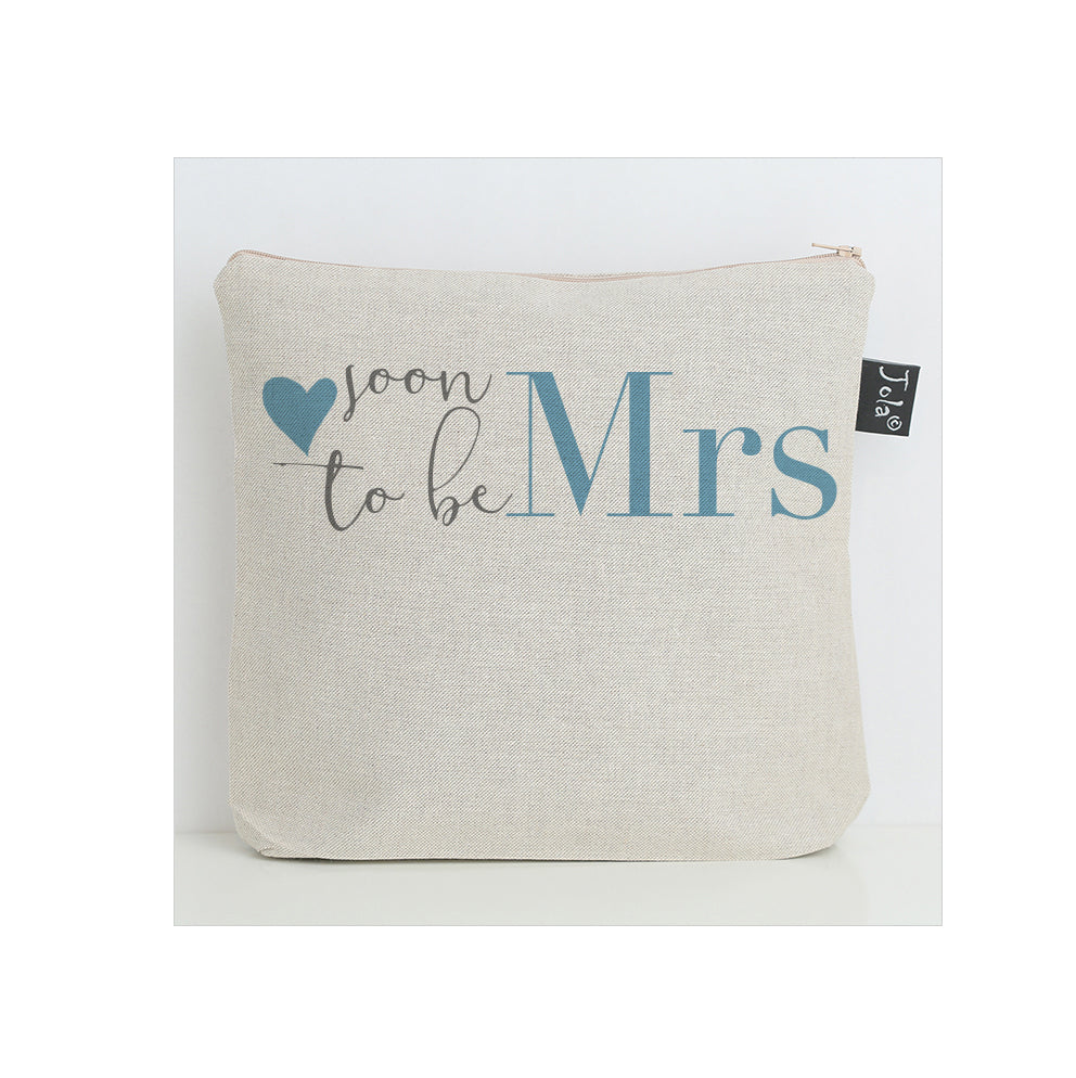 Soon to be Mrs Wash Bag