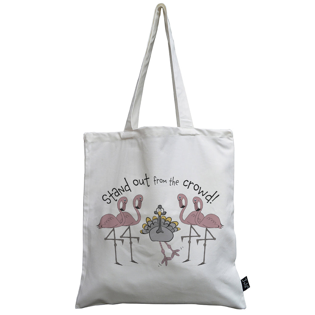 Stand Out From The Crowd Turkey canvas bag