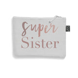 Brushed cotton Super Sister make up bag