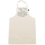 Truly Great Friends apron