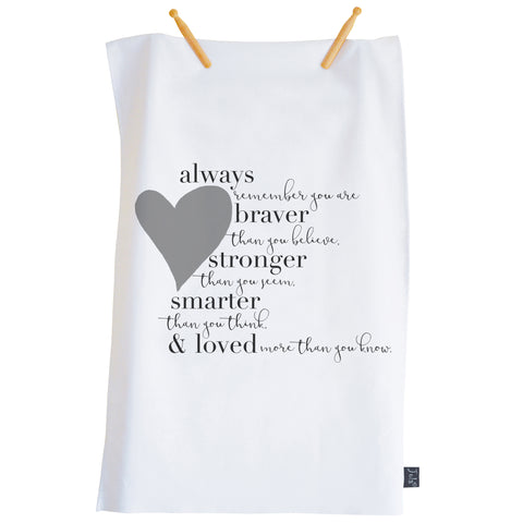 Braver Tea towel