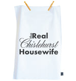 The Real Housewife Tea Towel