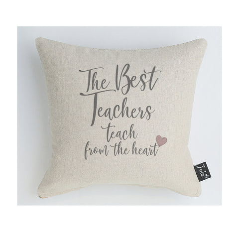 Teach from the heart midi cushion