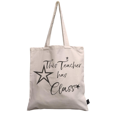 Teacher has Class Canvas Bag