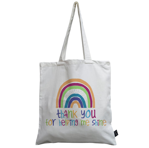 Teacher Shine canvas bag