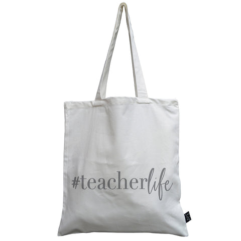 Teacher Life Canvas Bag
