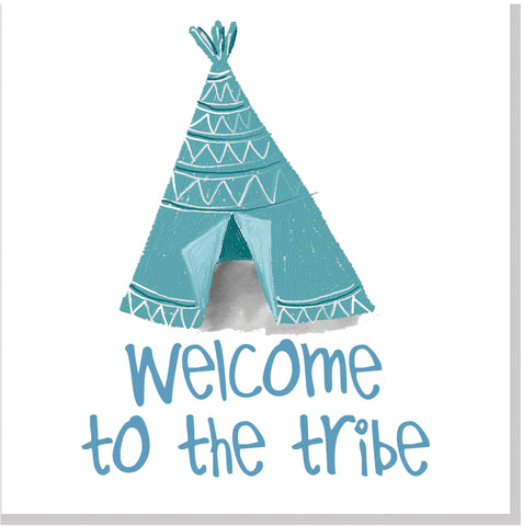 Welcome to the Tribe Tent square card