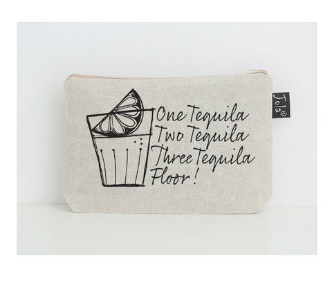 Tequila  Floor Small Make Up Bag