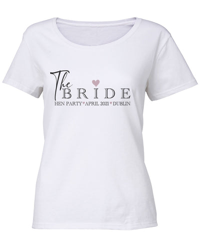 Hen Party Cotton Bespoke T shirt