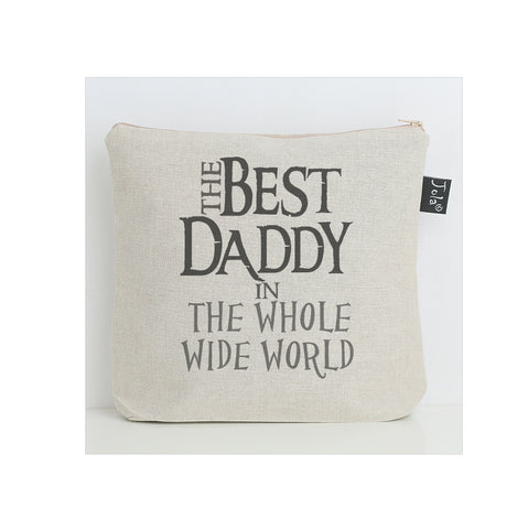 Best Daddy in the world wash bag