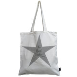 Best Teacher Star canvas bag