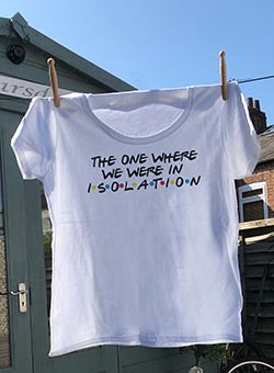 Isolation cotton t shirt