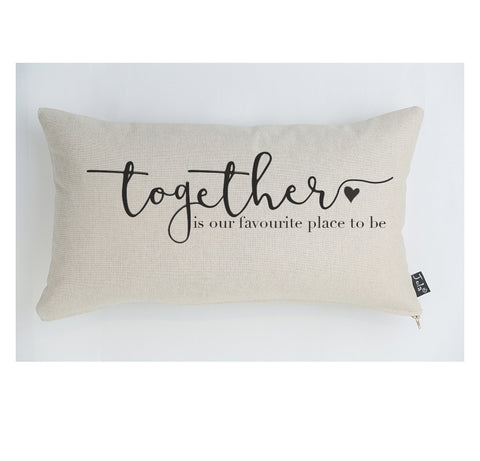 Together large boudoir cushion