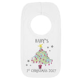 Baby's 1st Christmas Tree Bib