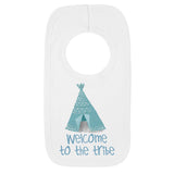 Welcome to the Tribe tent Bib