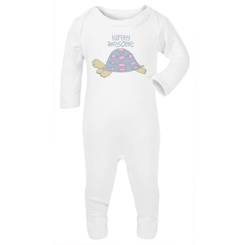 Turtley Awesome babygrow
