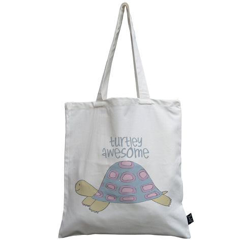 Turtley Awesome canvas bag