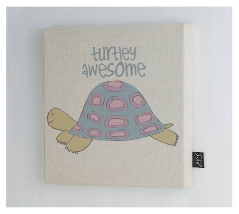 Turtley Awesome canvas frame