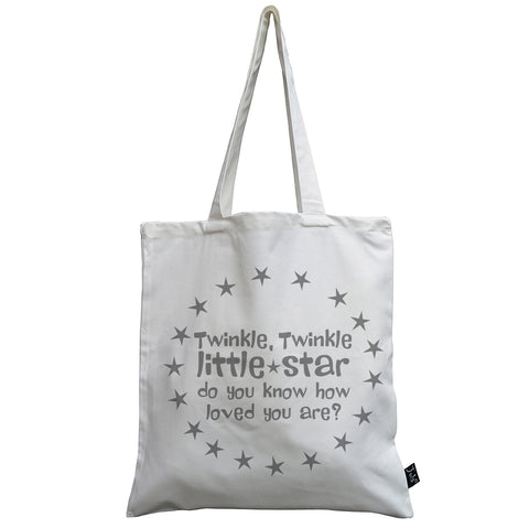 Twinkle Little star canvas bag