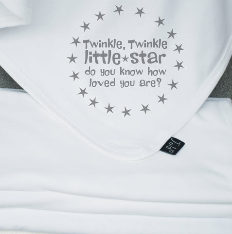 Twinkle Little Star Cotton Blanket