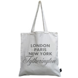 Sparkle City canvas bag