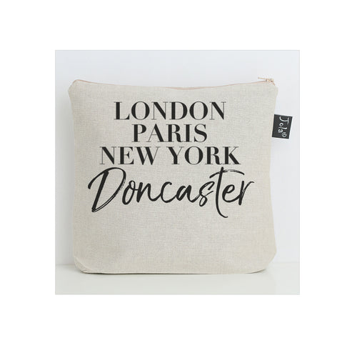 Personalised Vogue city wash bag