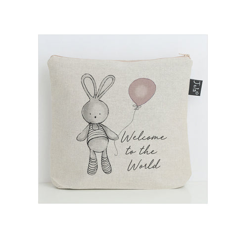 Welcome Balloon Nappy Bag