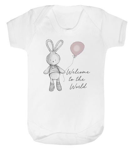 Welcome Balloon Baby vest