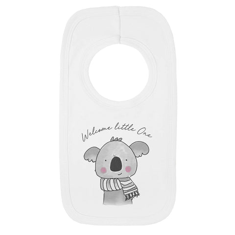 Welcome Little One Cute Jola Animals Bib