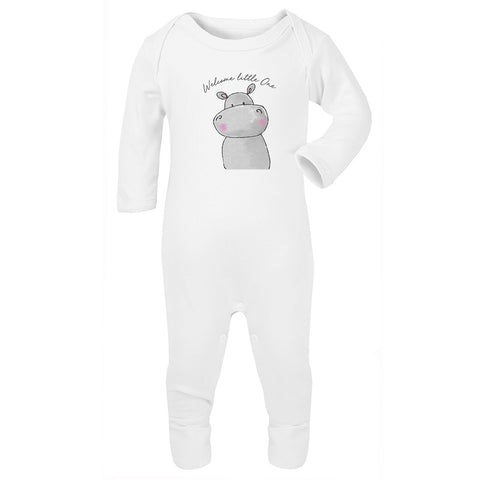 Welcome Little One Cute Jola Animals Babygrow