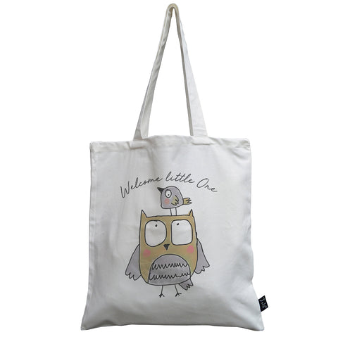 Welcome Little One Cute Jola Animals Canvas bag