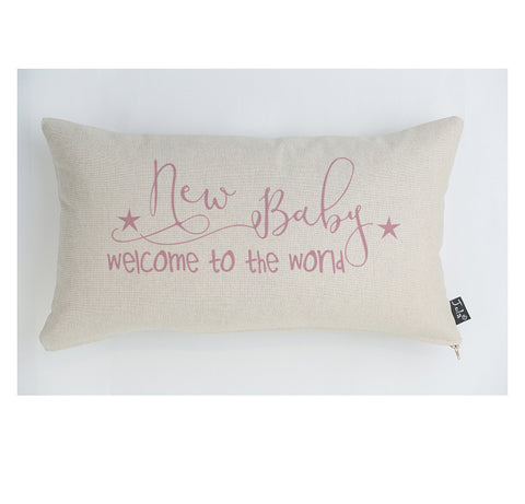 Welcome Baby cushion