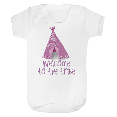 Welcome to the tribe Baby Vest