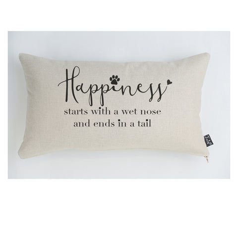 Happiness large boudoir cushion