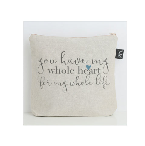Whole Heart washbag