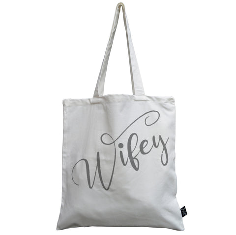 Wifey canvas bag
