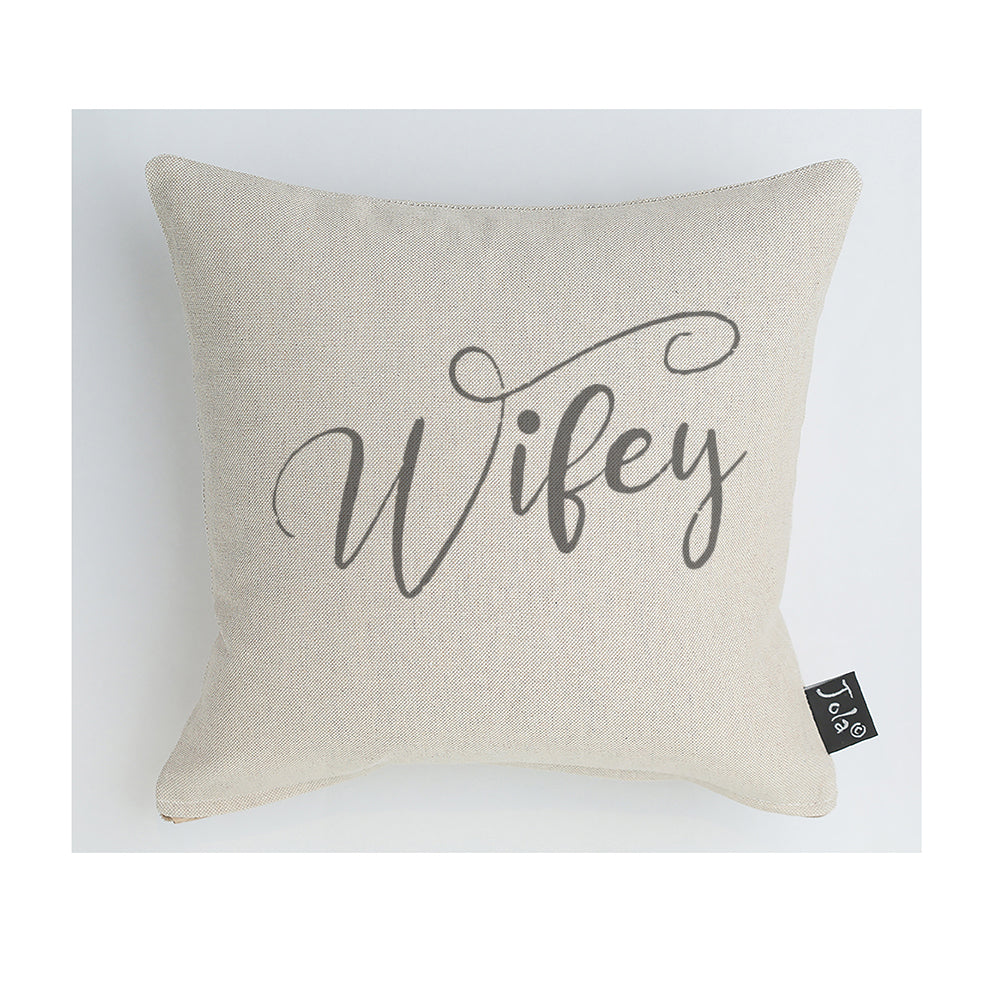 Wifey Wedding Cushion