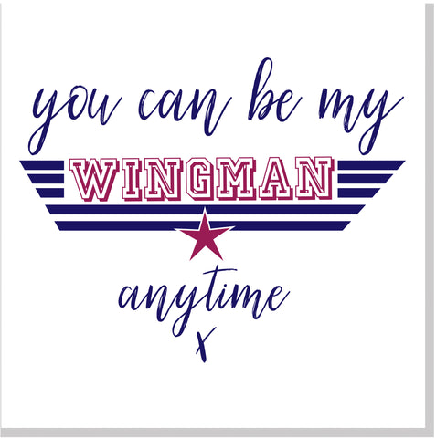 Wingman square card